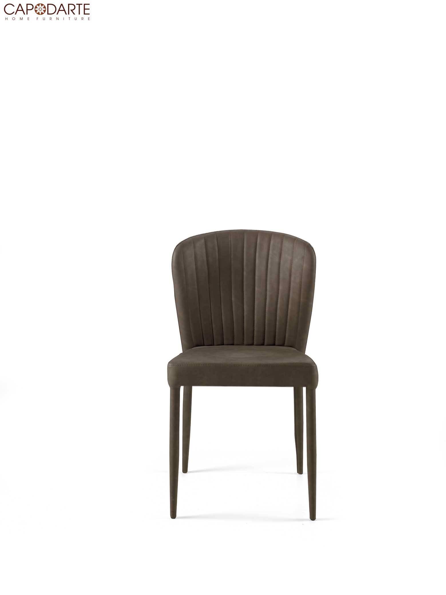 Set 2 sedie capodarte mod. brand marrone